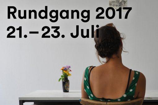 Rundgang 2017: Präsentieren. Ausstellen. Zeigen.