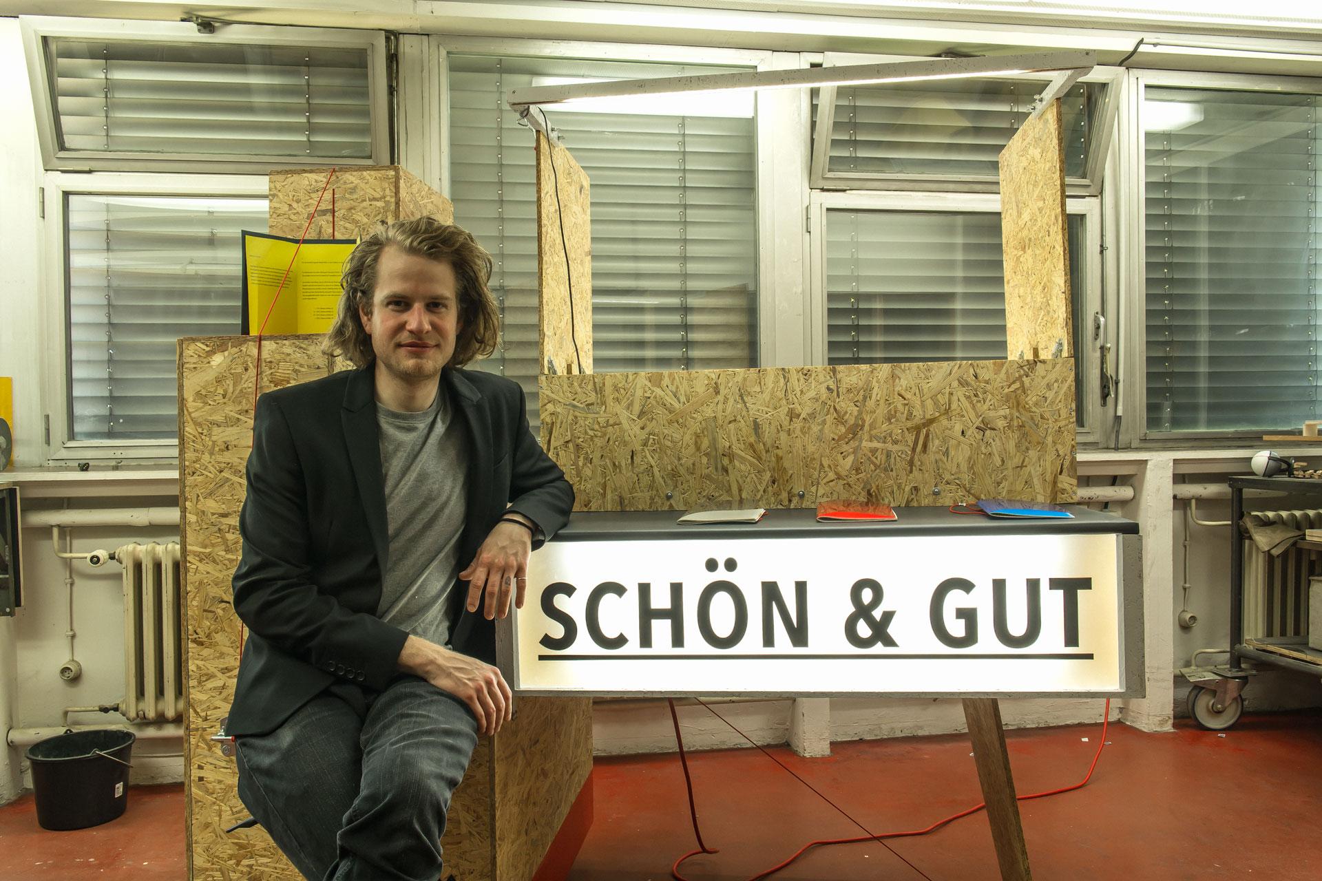 Atelierstipendiat der Stadt Nürtingen 2019: Alexander Sowa