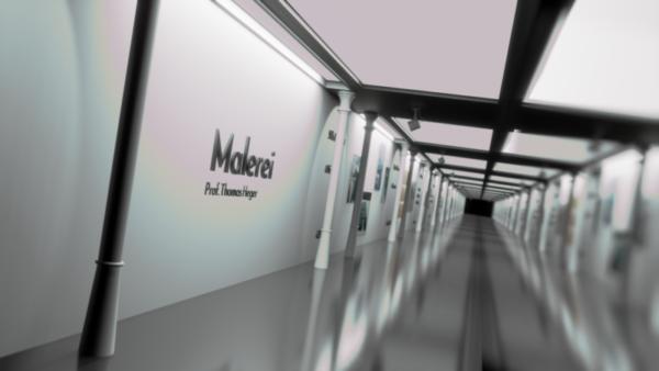 Rundgang 2021: Online-Galerie